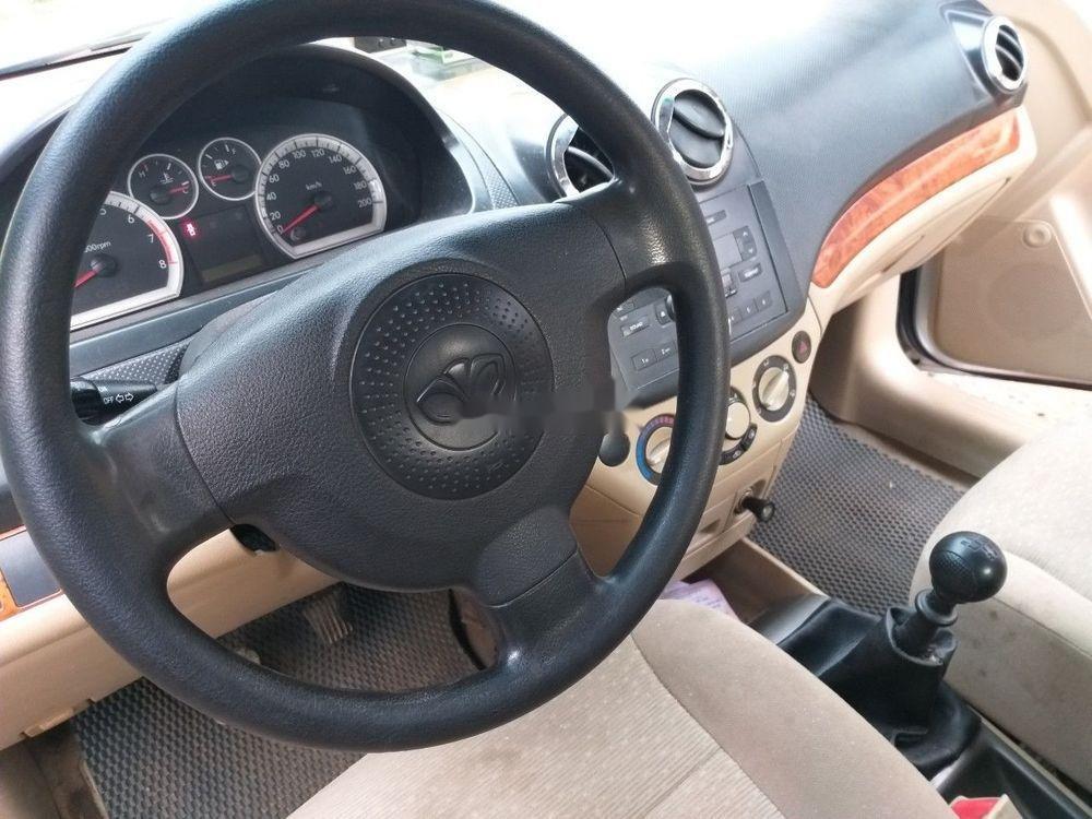 Bán Daewoo Gentra đời 2010, màu bạc, xe nhập (7)
