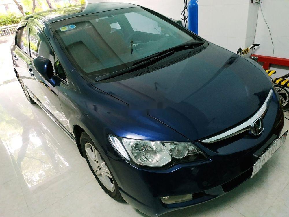 Cần bán Honda Civic đời 2008, màu xanh lam, nhập khẩu, số tự động (7)