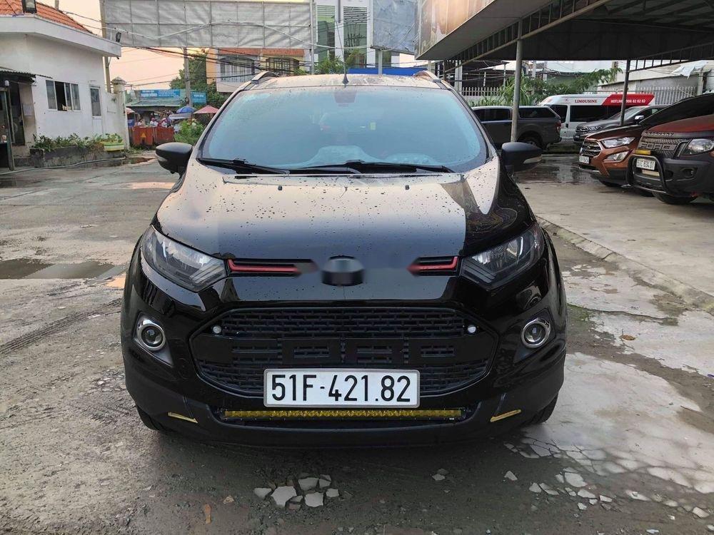 Bán xe cũ Ford EcoSport 2016, màu đen, giá tốt (2)