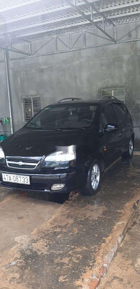 Bán xe Chevrolet Vivant năm 2008, màu đen, xe gia đình (1)