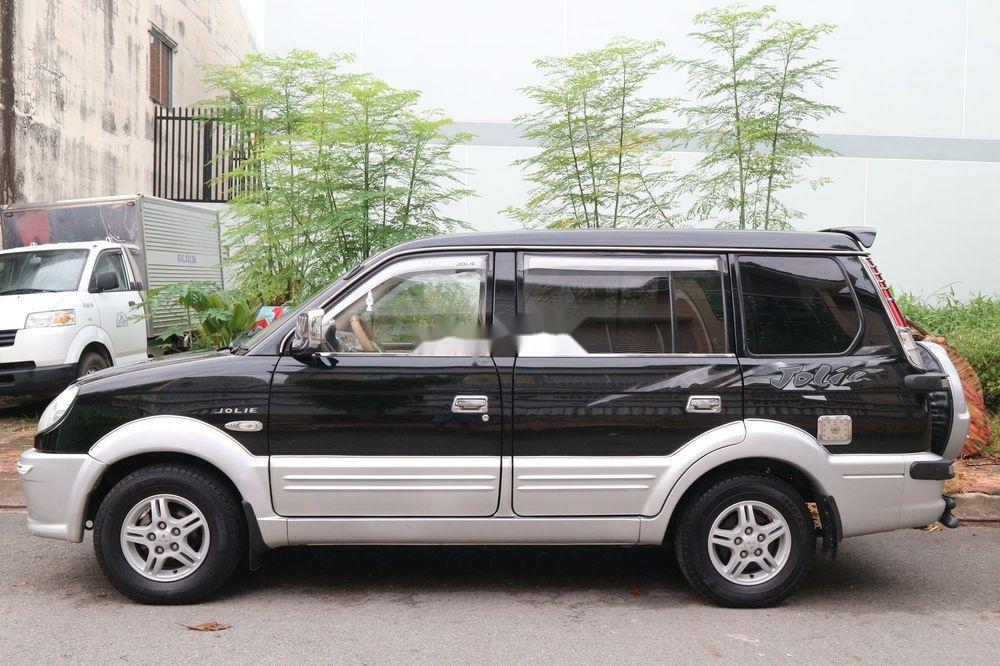 Bán Mitsubishi Jolie sản xuất 2005, màu đen, xe gia đình, giá 209tr (8)