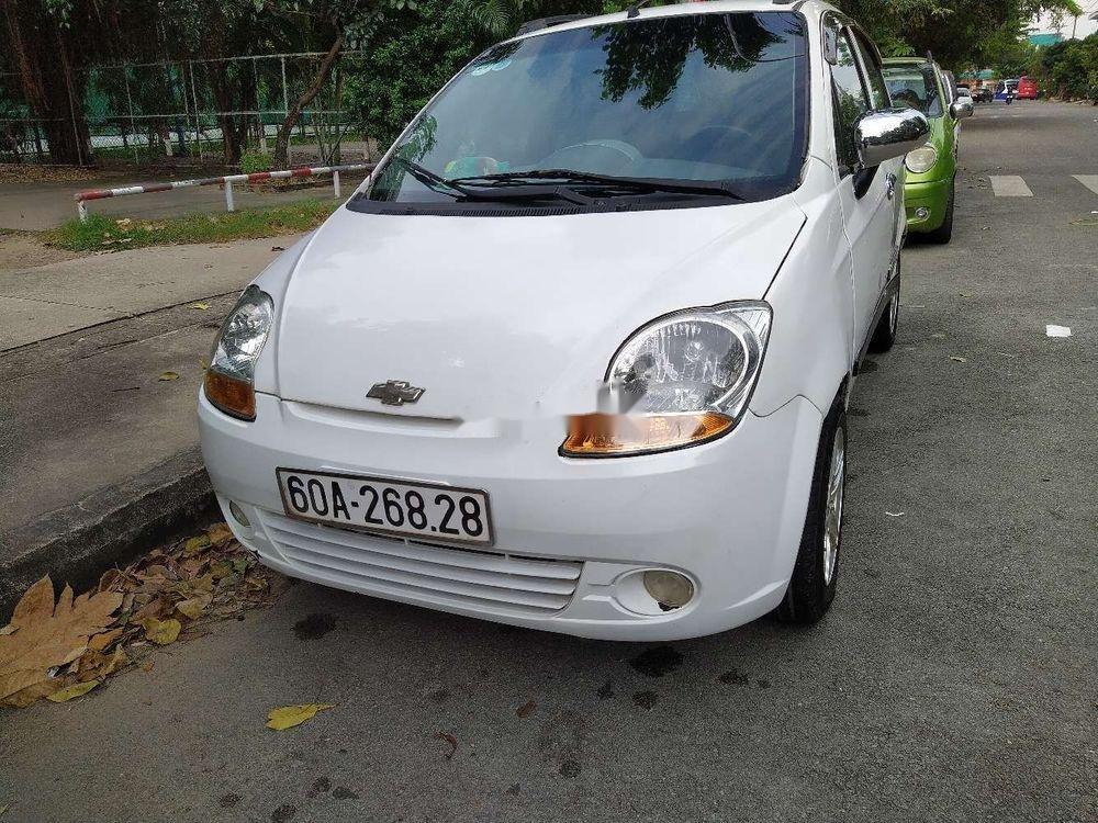 Bán Chevrolet Spark năm sản xuất 2008, màu trắng, giá cạnh tranh (2)