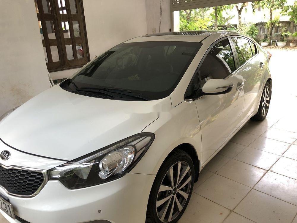Bán Kia K3 đời 2015, màu trắng, xe nhập, số tự động, 500tr (1)