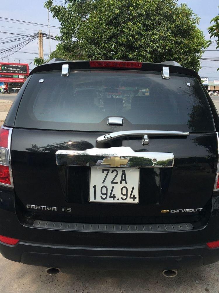Xe Chevrolet Captiva sản xuất năm 2008, màu đen, giá 285tr (4)