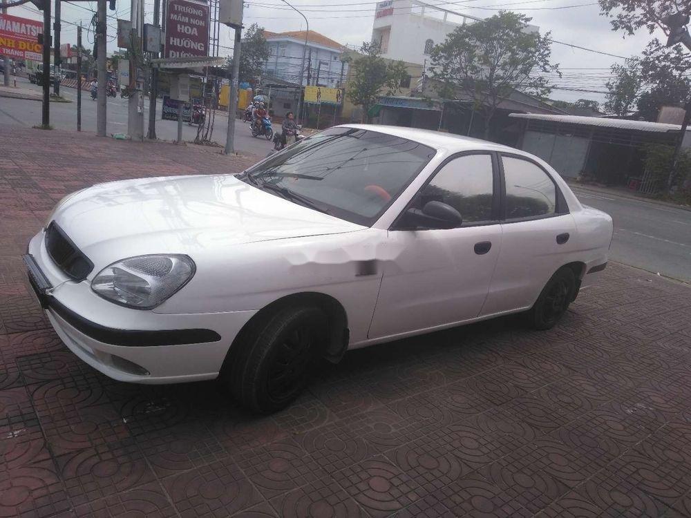 Bán ô tô Daewoo Nubira MT đời 2003, màu trắng, nhập khẩu nguyên chiếc (10)