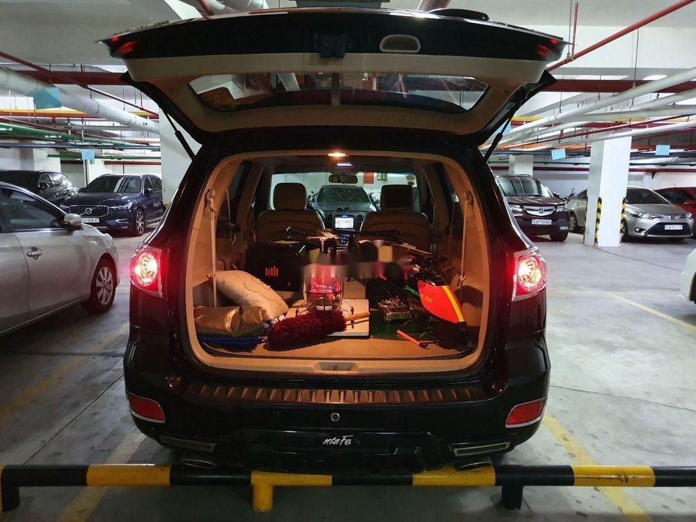 Cần bán Hyundai Santa Fe sản xuất năm 2008, màu đen, nhập khẩu nguyên chiếc (6)