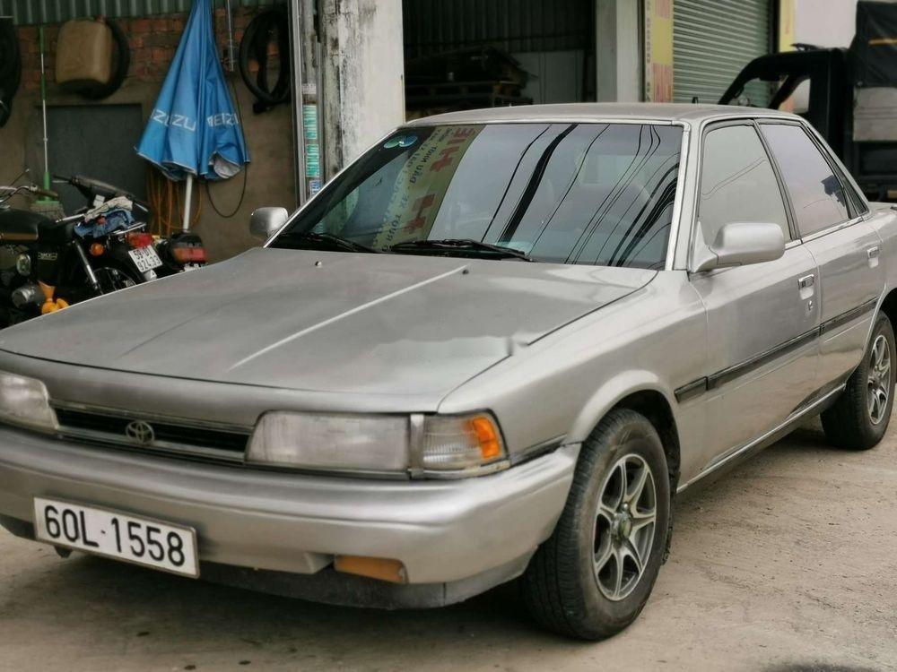 Cần bán xe Toyota Camry đời 1986, màu bạc, nhập khẩu, giá 45tr (11)