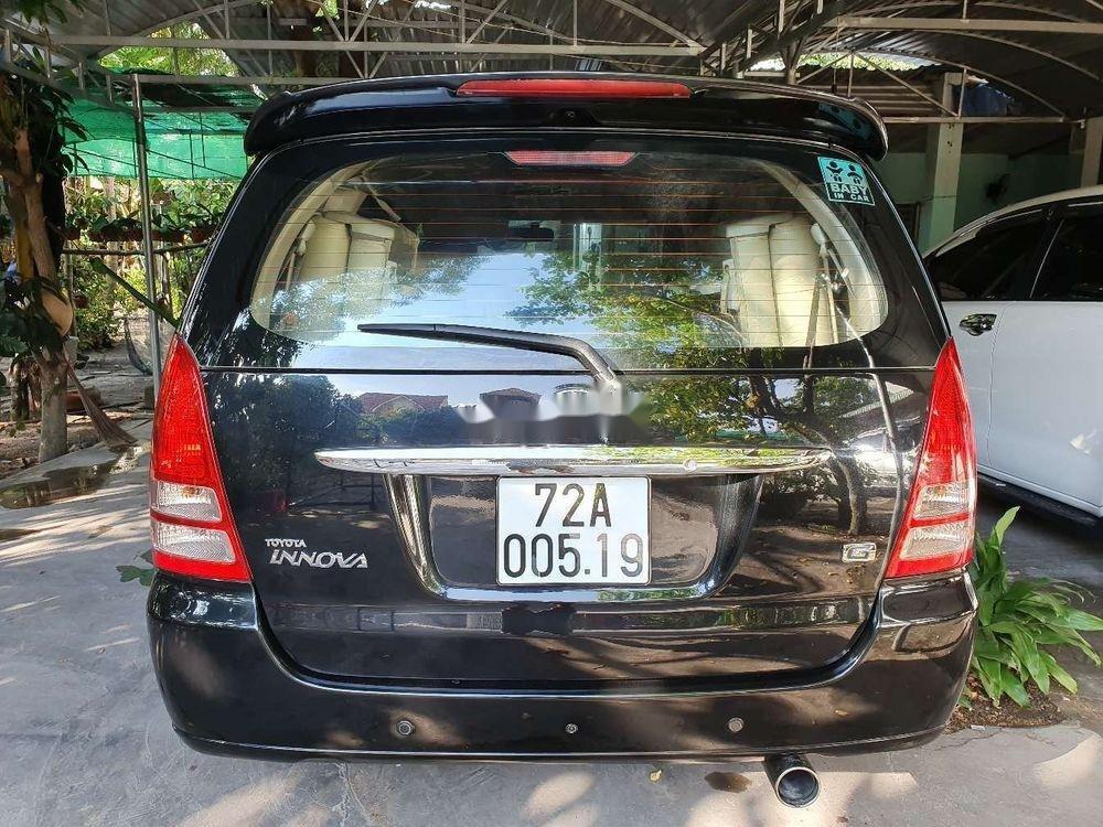 Bán xe cũ Toyota Innova sản xuất 2006, màu đen, 299tr (2)