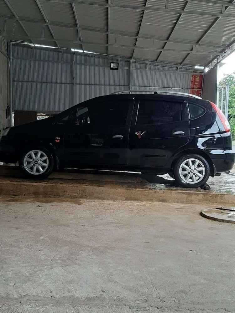 Bán xe Chevrolet Vivant năm 2008, màu đen, xe gia đình (2)