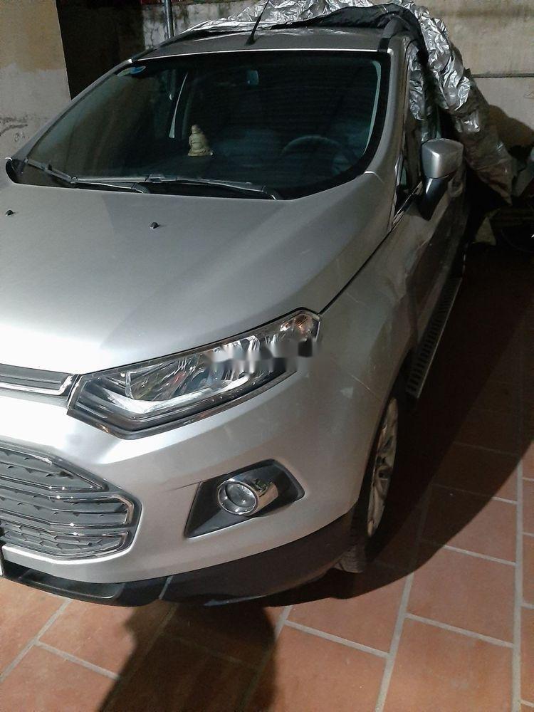 Cần bán lại xe Ford EcoSport sản xuất năm 2015, màu bạc xe nguyên bản (1)