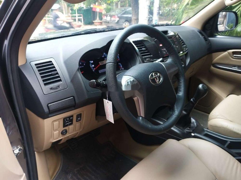Cần bán Toyota Fortuner đời 2015, màu xám, xe còn mới, 785tr (5)