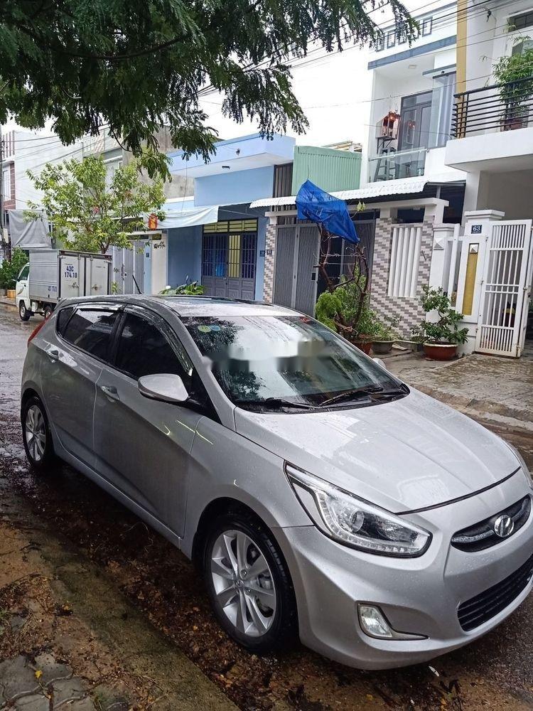 Cần bán Hyundai Accent đời 2015, màu bạc, nhập khẩu  (12)
