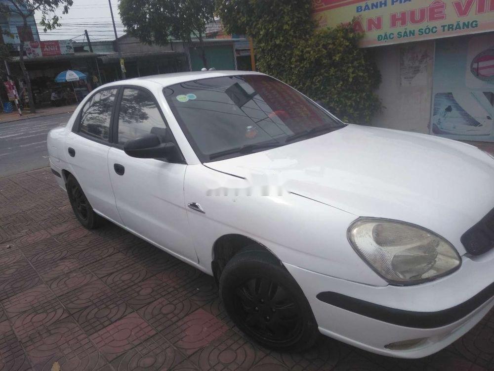 Bán ô tô Daewoo Nubira MT đời 2003, màu trắng, nhập khẩu nguyên chiếc (1)