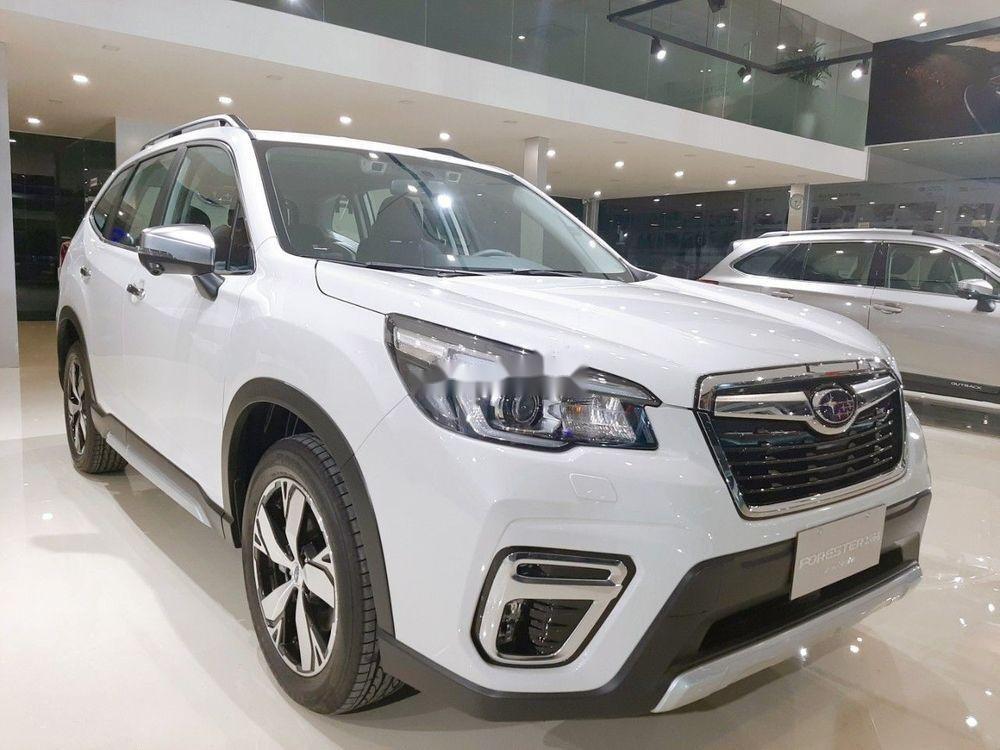 Bán Subaru Forester đời 2019, màu trắng, nhập khẩu  (1)