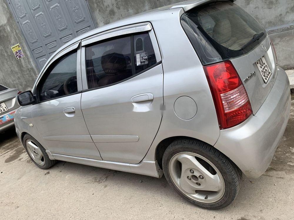 Cần bán xe Kia Morning SLX  MT sản xuất 2004, màu bạc, nhập khẩu (5)