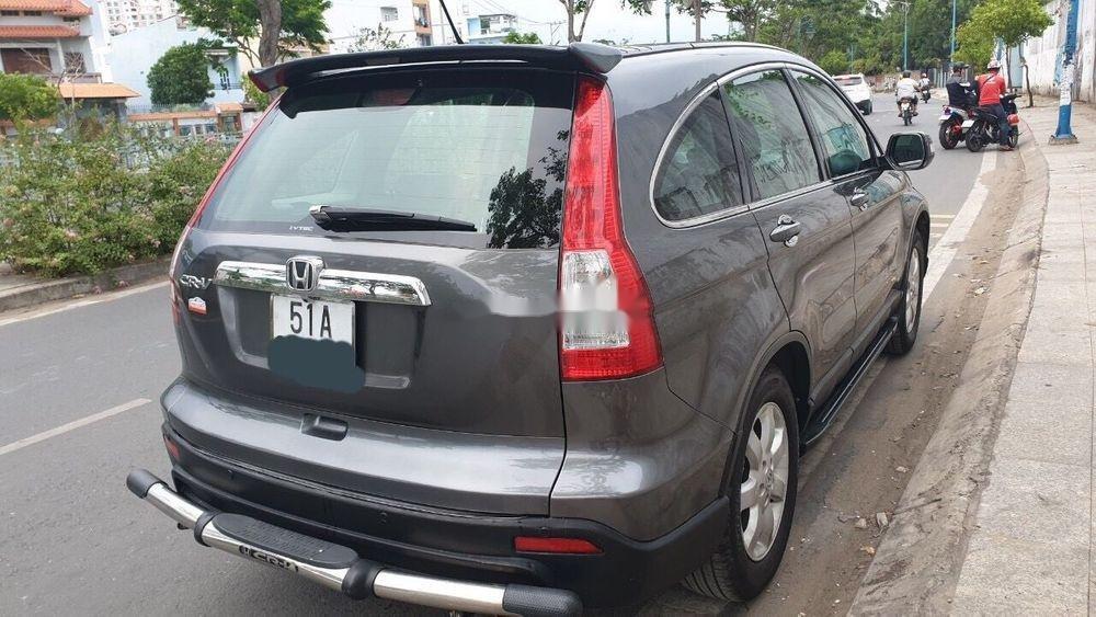 Cần bán gấp Honda CR V 2010, màu xám, xe gia đình   (2)