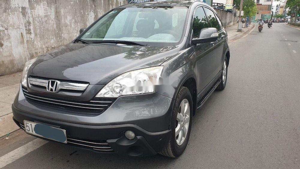 Cần bán gấp Honda CR V 2010, màu xám, xe gia đình   (1)
