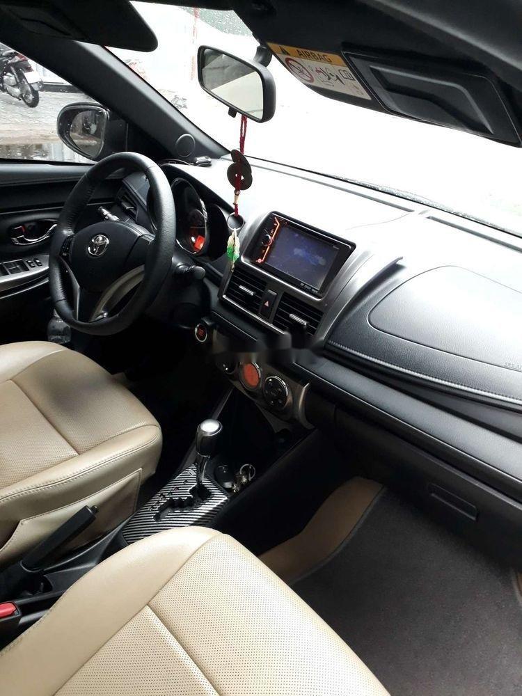 Bán ô tô Toyota Yaris sản xuất năm 2015, màu bạc, xe nhập chính hãng (6)