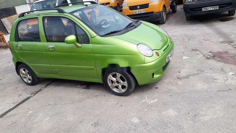 Cần bán Daewoo Matiz sản xuất năm 2008, màu xanh lục, xe nhập (2)