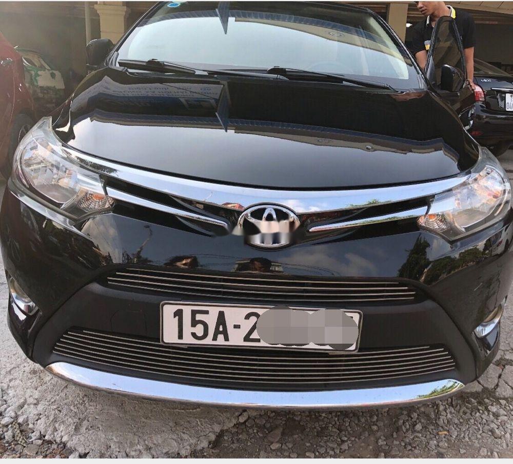Bán Toyota Vios E năm sản xuất 2015, số sàn, giá tốt (1)