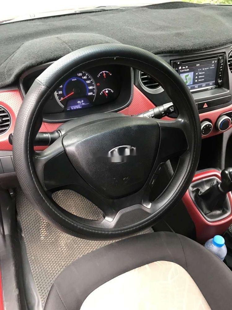 Bán xe Hyundai Grand i10 2015, nhập khẩu, giá cạnh tranh (10)