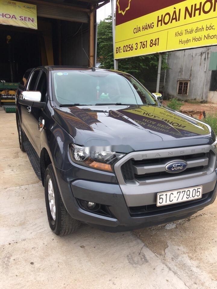 Bán xe Ford Ranger sản xuất năm 2016, màu xám xe gia đình, xe nguyên bản (3)