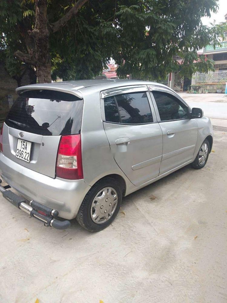 Bán ô tô Kia Morning sản xuất năm 2007, màu bạc, nhập khẩu nguyên chiếc chính hãng (3)