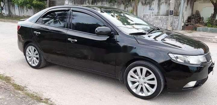Bán Kia Forte 2011, màu đen, xe gia đình, 360 triệu (1)