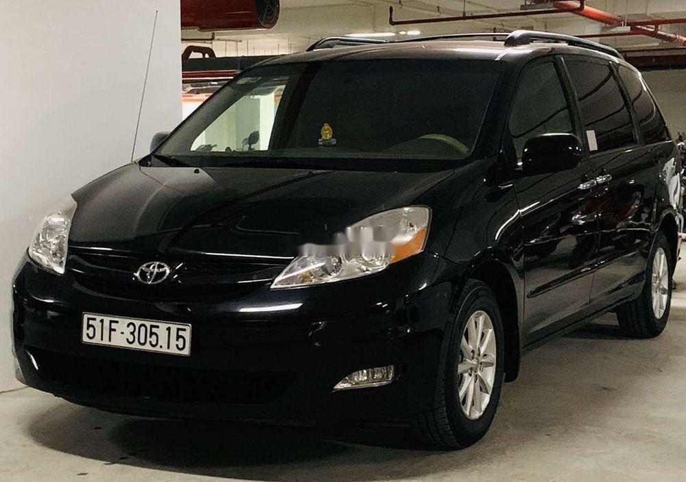 Cần bán lại xe Toyota Sienna 3.5LE 2008, màu đen, nhập khẩu nguyên chiếc chính chủ (2)