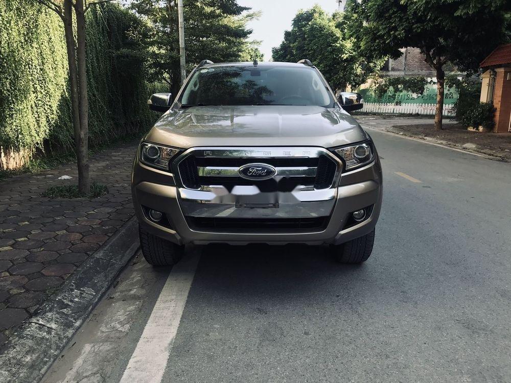Cần bán Ford Ranger 2016, màu xám, nhập khẩu nguyên chiếc, số sàn (1)