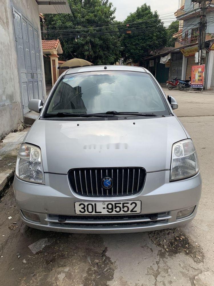 Cần bán xe Kia Morning SLX  MT sản xuất 2004, màu bạc, nhập khẩu (1)