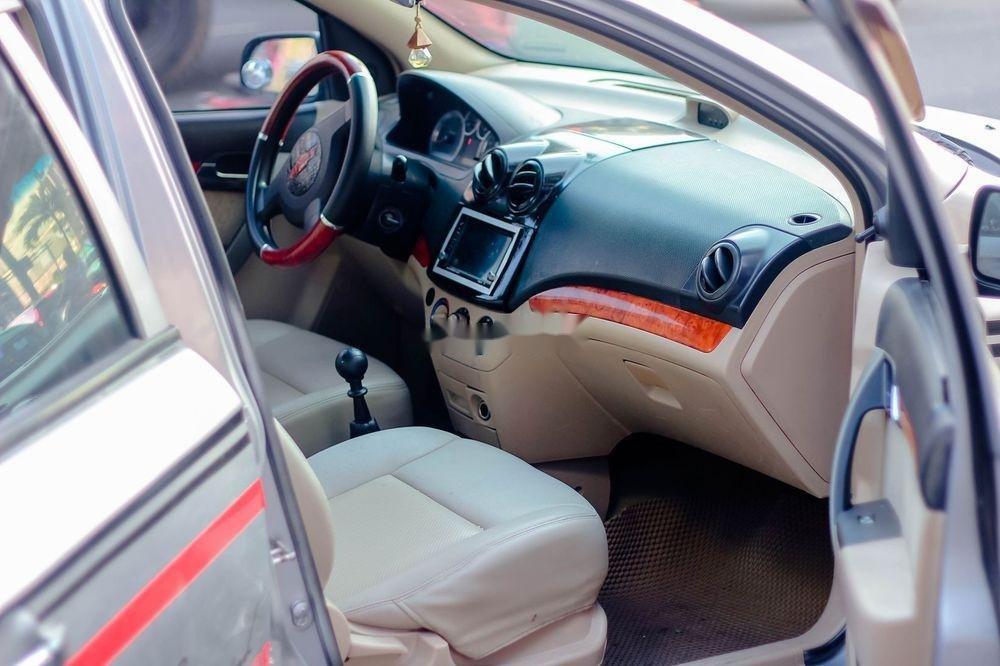 Bán Chevrolet Aveo sản xuất 2008, màu bạc chính chủ  (3)