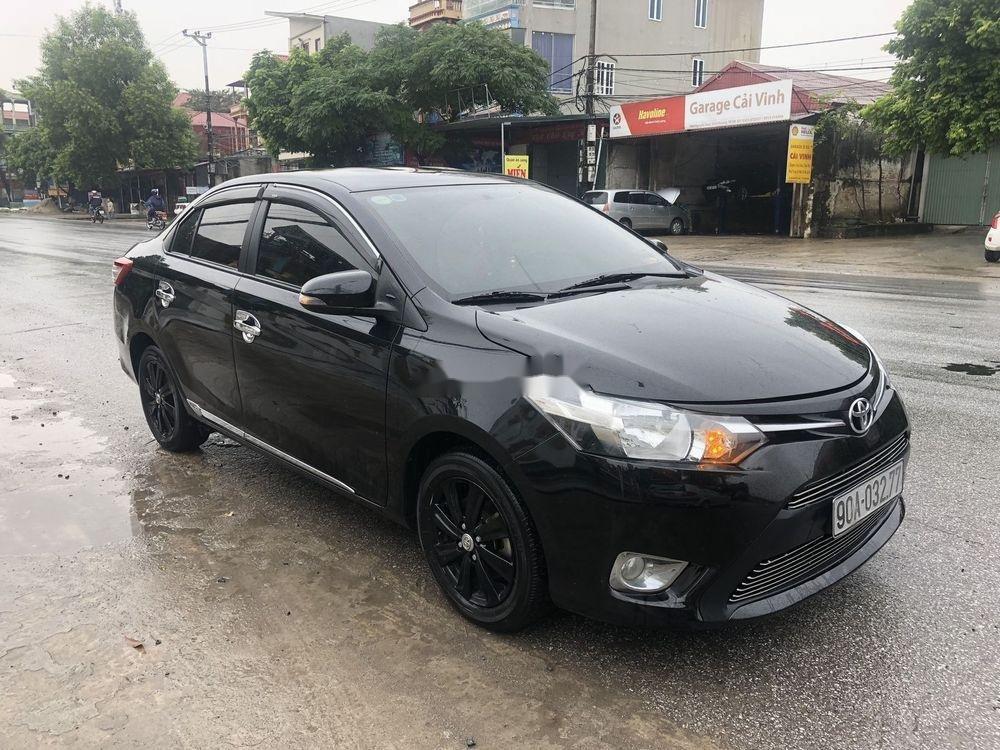 Bán xe Toyota Vios năm 2015, màu đen, chính chủ (2)