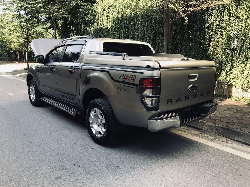Cần bán Ford Ranger 2016, màu xám, nhập khẩu nguyên chiếc, số sàn (4)