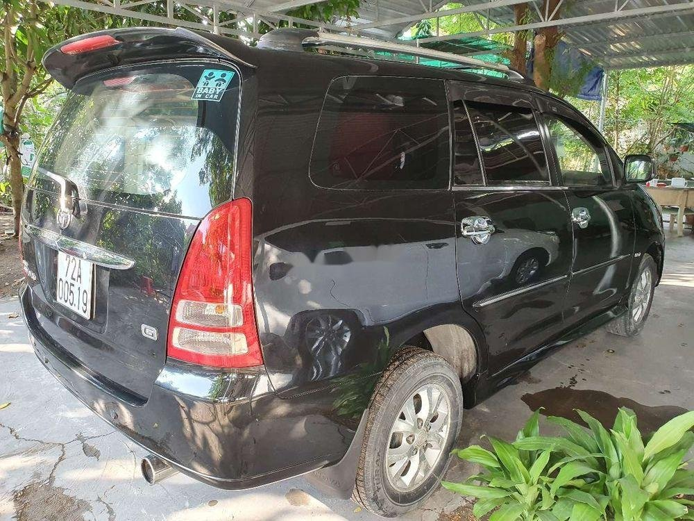 Bán xe cũ Toyota Innova sản xuất 2006, màu đen, 299tr (3)