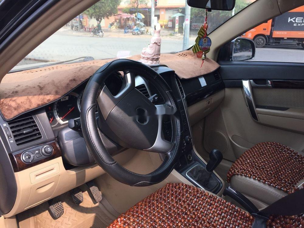 Xe Chevrolet Captiva sản xuất năm 2008, màu đen, giá 285tr (2)