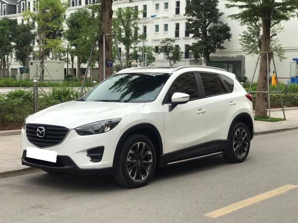 Cần bán lại xe Mazda CX 5 sản xuất 2016, màu trắng còn mới, bản 2.5 full (5)