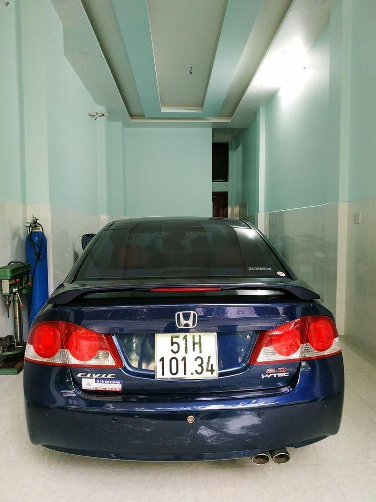 Cần bán Honda Civic đời 2008, màu xanh lam, nhập khẩu, số tự động (8)