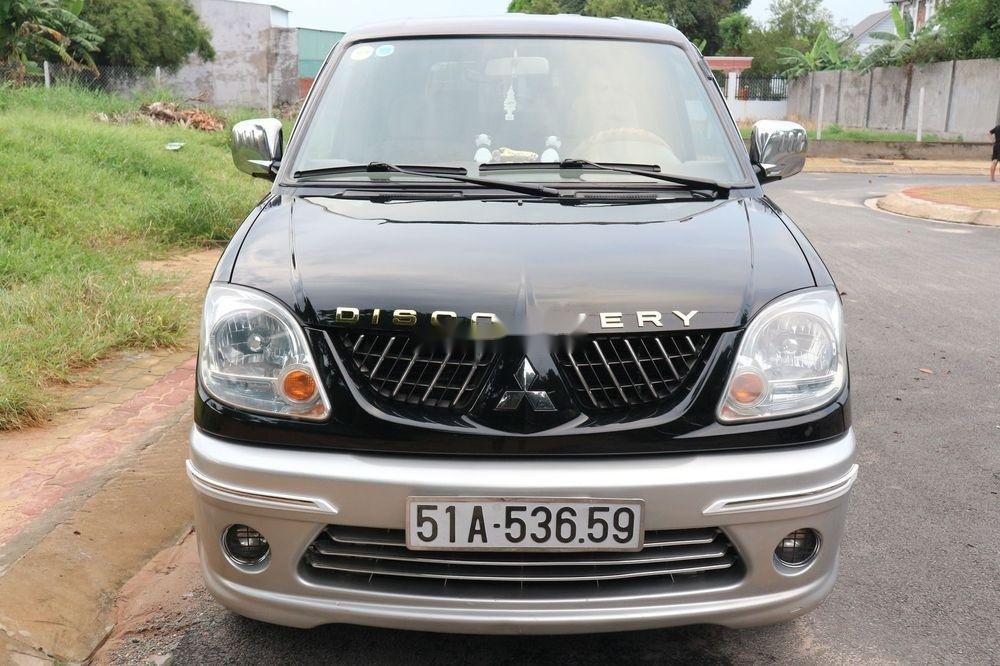 Bán Mitsubishi Jolie sản xuất 2005, màu đen, xe gia đình, giá 209tr (1)