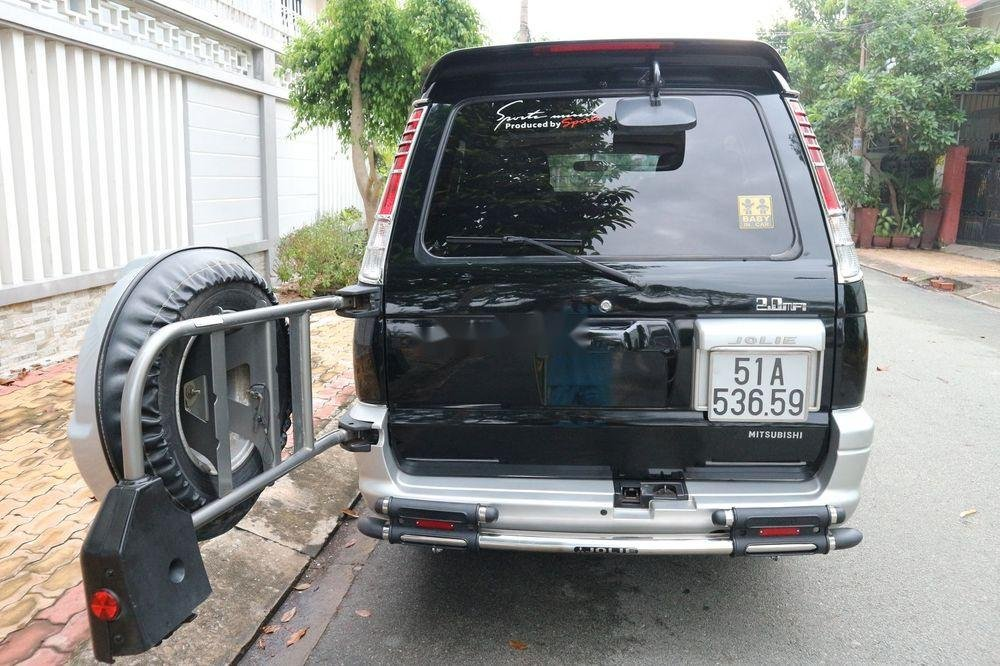Bán Mitsubishi Jolie sản xuất 2005, màu đen, xe gia đình, giá 209tr (5)