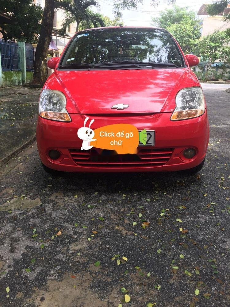 Bán ô tô Chevrolet Spark đời 2012, màu đỏ, giá chỉ 99 triệu, đăng ký lần đầu 2012 (1)