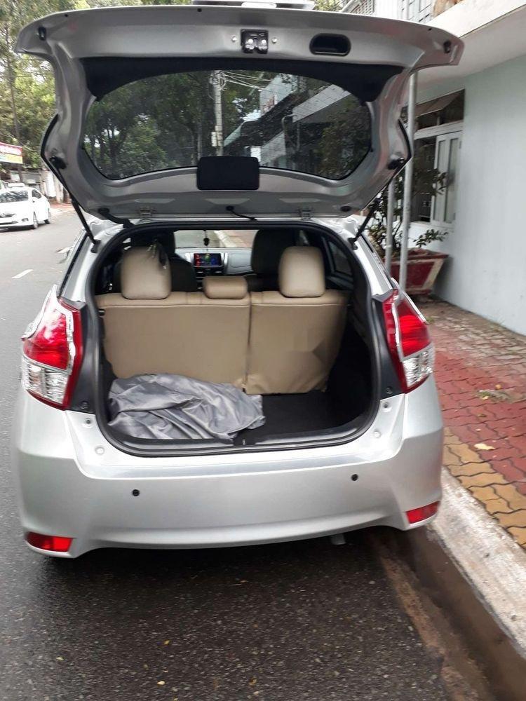 Bán ô tô Toyota Yaris sản xuất năm 2015, màu bạc, xe nhập chính hãng (7)