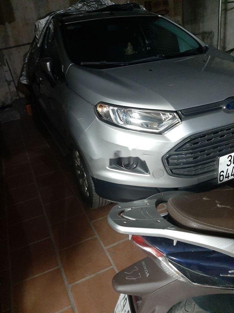 Cần bán lại xe Ford EcoSport sản xuất năm 2015, màu bạc xe nguyên bản (2)