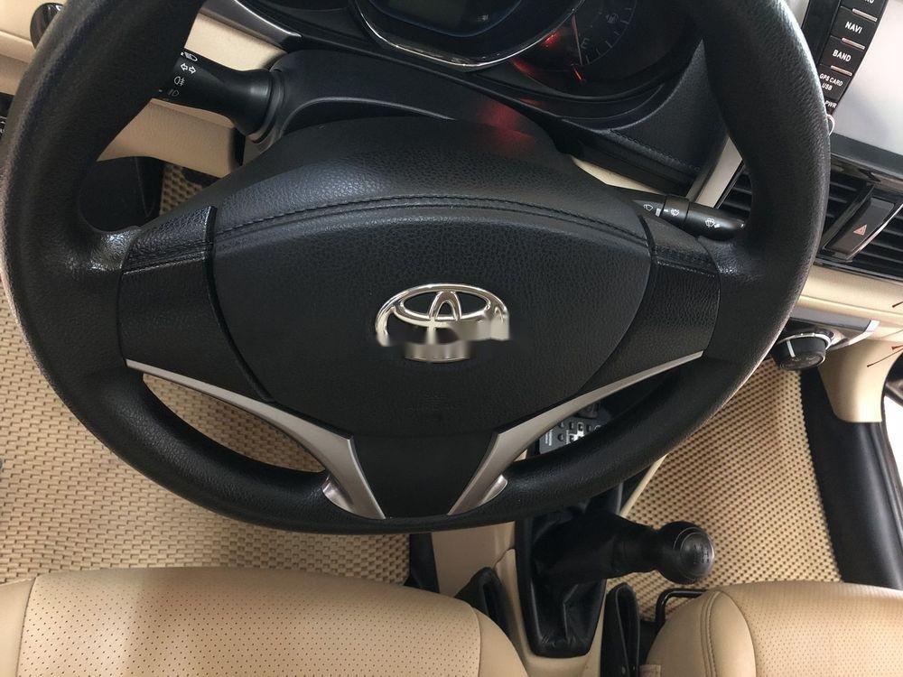 Bán xe Toyota Vios năm 2015, màu đen, chính chủ (7)