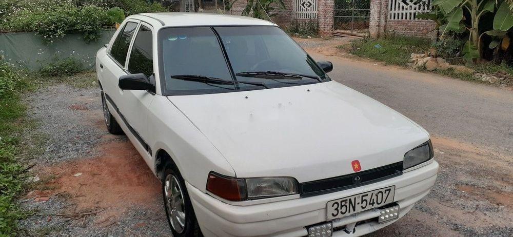 Bán Mazda 323 năm 1995, màu trắng xe gia đình, còn nguyên bản (2)