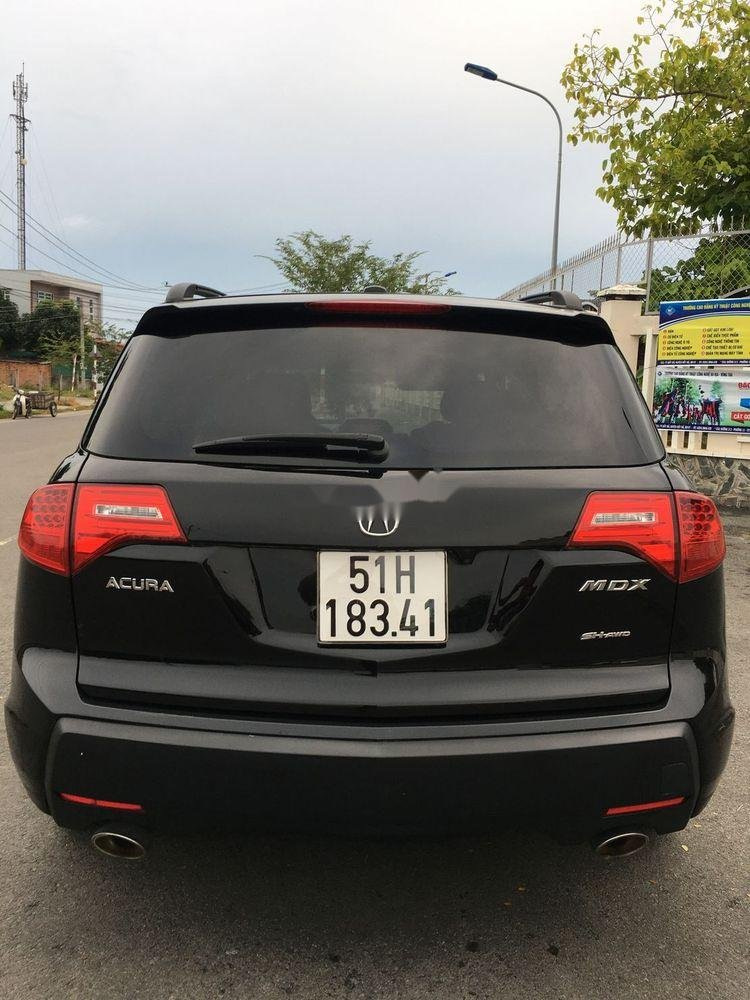 Bán xe Acura MDX năm sản xuất 2007, màu đen, xe nhập chính hãng (3)