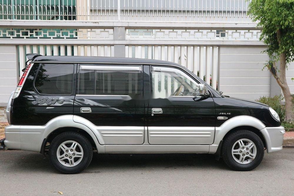 Bán Mitsubishi Jolie sản xuất 2005, màu đen, xe gia đình, giá 209tr (11)