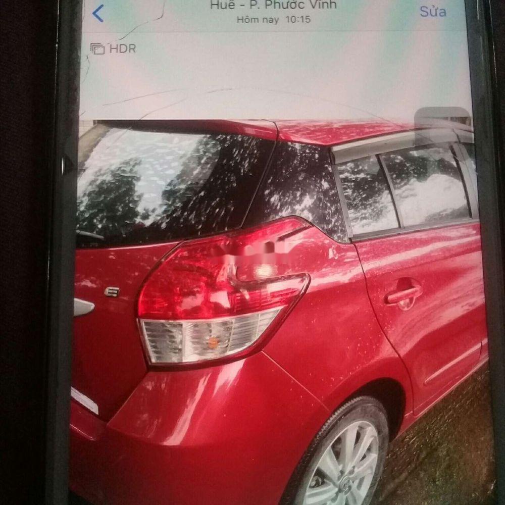 Cần bán gấp Toyota Yaris năm 2014, màu đỏ, xe nhập (7)