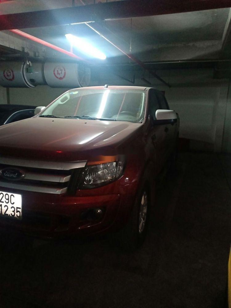 Cần bán xe cũ Ford Ranger đời 2015, màu đỏ (4)