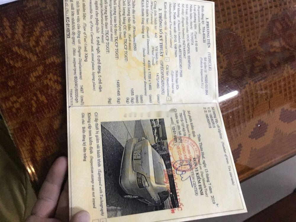Bán ô tô Toyota Vios sản xuất năm 2012, xe nguyên bản (8)